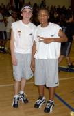 Frankie Muniz Bow Wow during Frankie Muniz Hosts 'HoopLA' a Celebrity Basketball Game Which Benefits The Starlight Children's Foundation at...