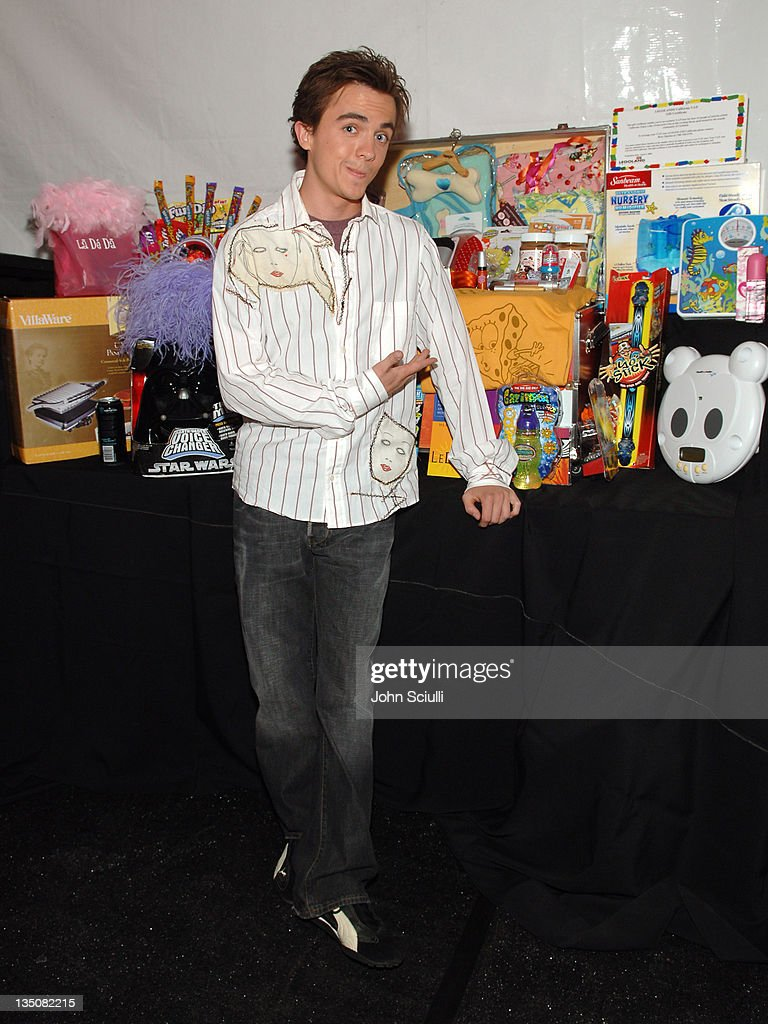 Frankie Muniz during Mattel Celebrity Retreat Presented by Backstage Creations at Kids' Choice Awards '05 - Day 2 at UCLA Pauley Pavilion in Westwood, California, United States.