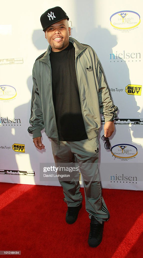 DJ Frankie Needles attends the 4th Annual Community Awards Red Carpet Gala at the Boyle Heights Technology Youth Center on May 28, 2010 in Los Angeles, California.