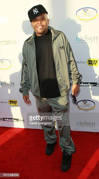 Frankie Needles attends the 4th Annual Community Awards Red Carpet Gala at the Boyle Heights Technology Youth Center on May 28 2010 in Los Angeles...