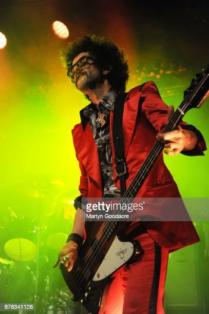 Frankie Poullain of The Darkness performs at Columbia Theater Berlin Germany on November 15 2017