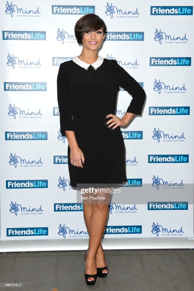 Frankie Sandford attends the Mind Mental Health Media Awards at BFI Southbank on November 19, 2012 in London, England.