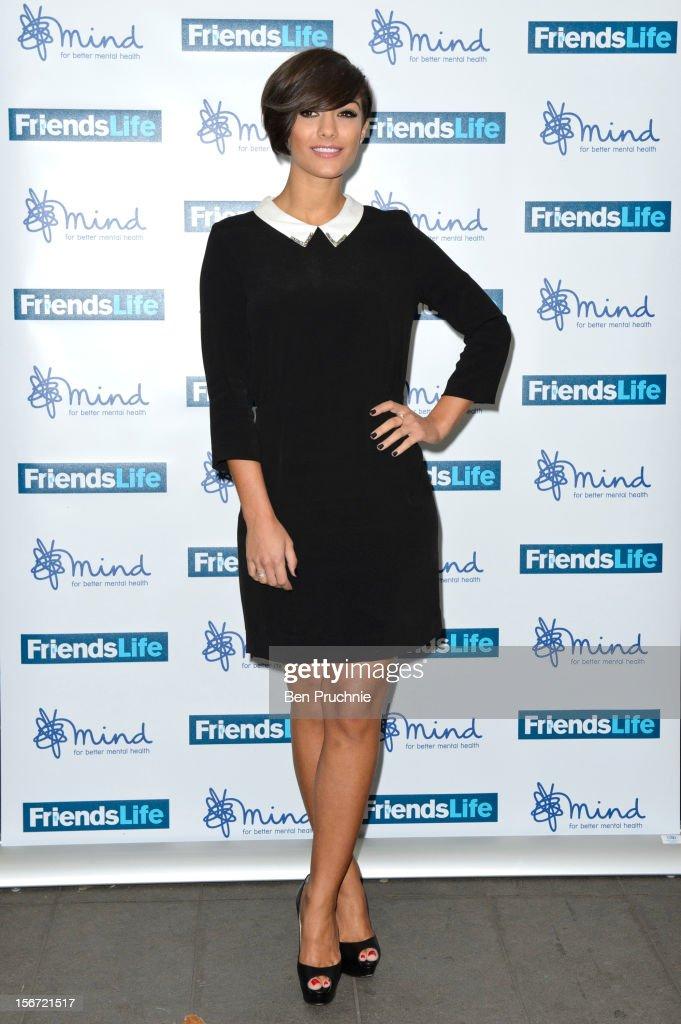 Frankie Sandford attends the Mind Mental Health Media Awards at BFI Southbank on November 19, 2012 in London, England.