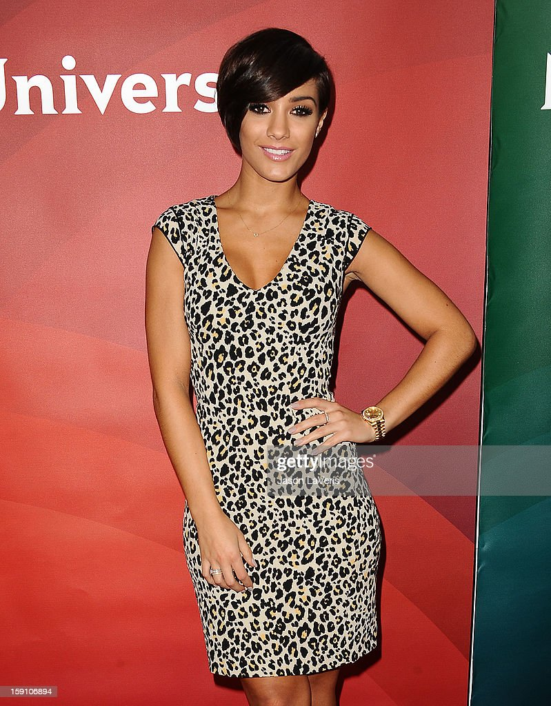 Frankie Sandford of The Saturdays attends the 2013 NBC TCA Winter Press Tour at The Langham Huntington Hotel and Spa on January 7, 2013 in Pasadena, California.