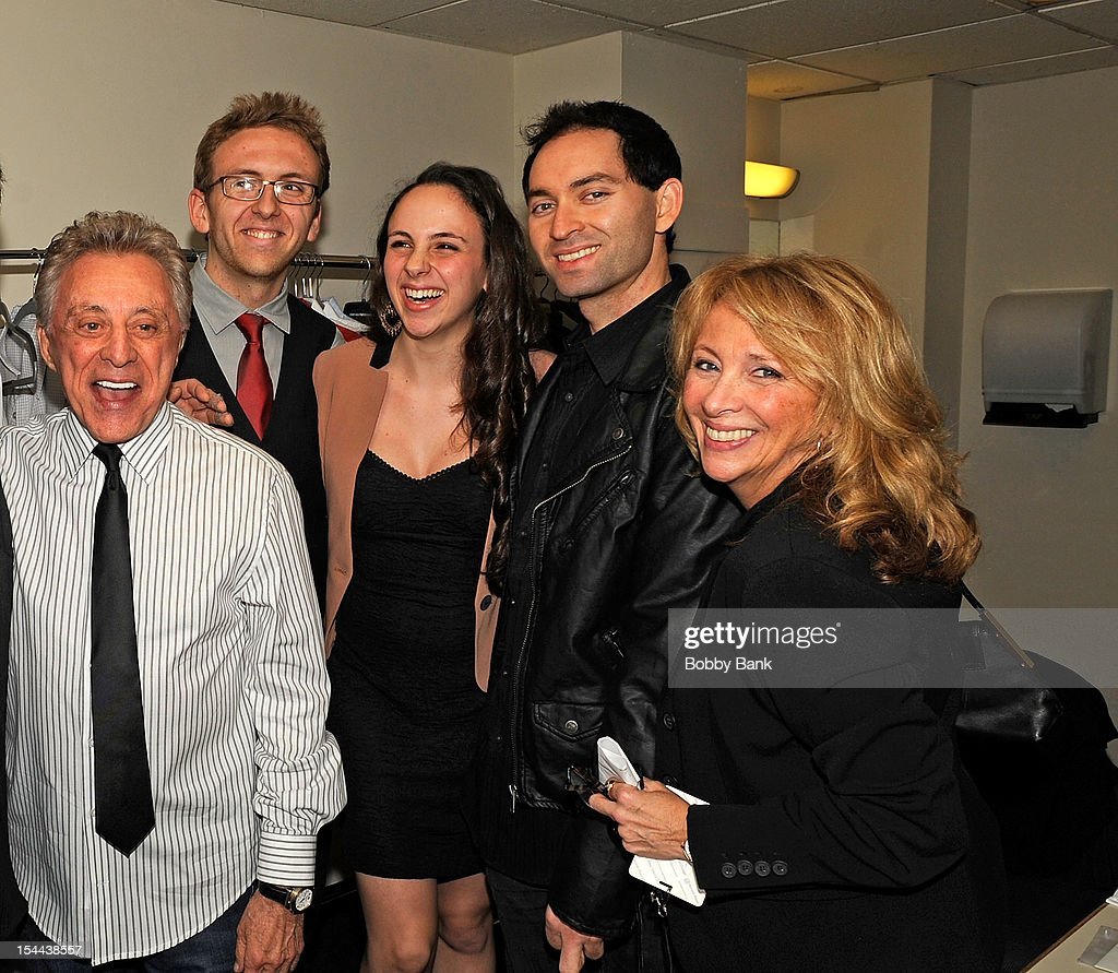<a gi-track='captionPersonalityLinkClicked' href=/galleries/search?phrase=Frankie+Valli&family=editorial&specificpeople=585927 ng-click='$event.stopPropagation()'>Frankie Valli</a> and his daughter Toni Valli attends <a gi-track='captionPersonalityLinkClicked' href=/galleries/search?phrase=Frankie+Valli&family=editorial&specificpeople=585927 ng-click='$event.stopPropagation()'>Frankie Valli</a> And The Four Seasons 50th Anniversary Celebration at Broadway Theatre on October 19, 2012 in New York City.