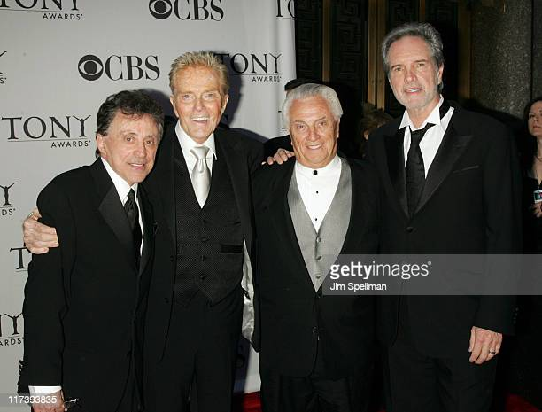 Frankie Valli and The Four Seasons during 60th Annual Tony Awards Arrivals at Radio City Music Hall in New York City New York United States