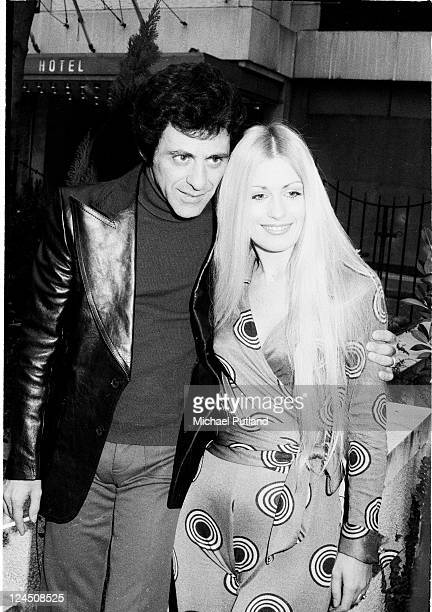 Frankie Valli and wife London January 1975