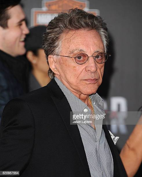 Frankie Valli attends the premiere of 'Captain America Civil War' at Dolby Theatre on April 12 2016 in Hollywood California