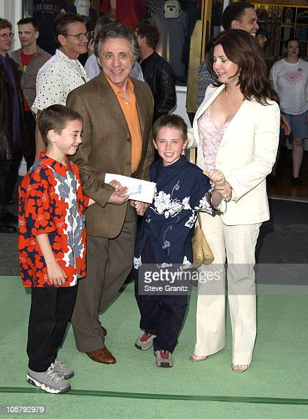 Frankie Valli during World Premiere Of 'The Hulk' Hollywood at Universal Amphitheatre in Universal City California United States