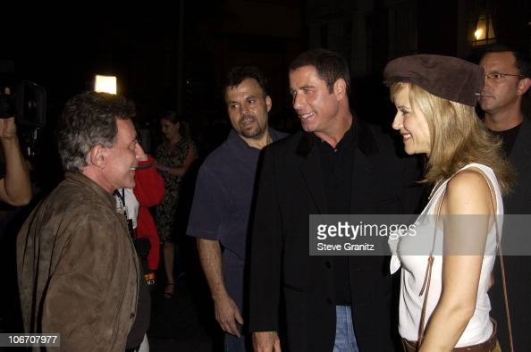 Frankie Valli John Travolta and Kelly Preston during Paramount Home Entertainment Celebrates DVD Releases Of 6 AllTime Musical Favorites Inside and...