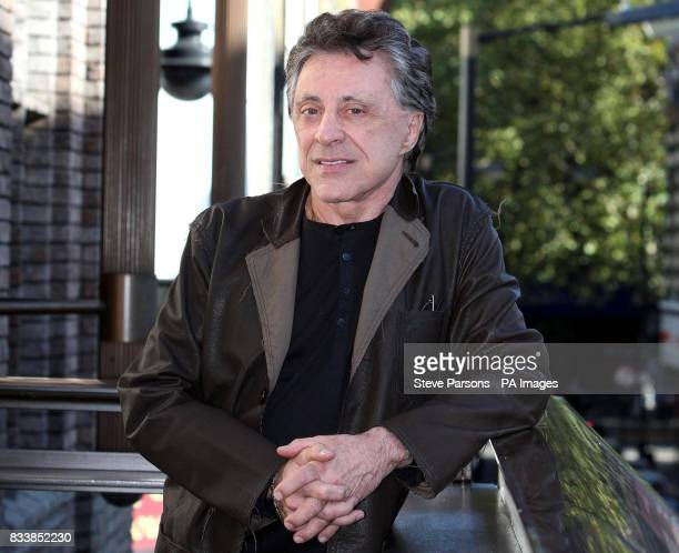 Frankie Valli launches the award winning Broadway Musical 'Jersey Boys' at the Prince Edward Theatre in central London