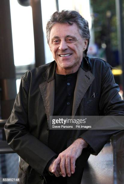 Frankie Valli launches the award winning Broadway Musical quotJersey Boysquot at the Prince Edward Theatre in central London