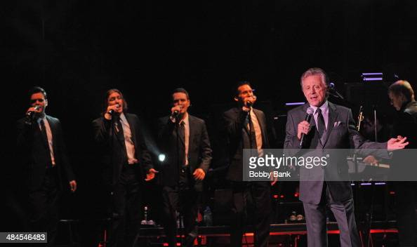 Frankie Valli performs at Borgata Hotel Casino Spa on April 12 2014 in Atlantic City New Jersey