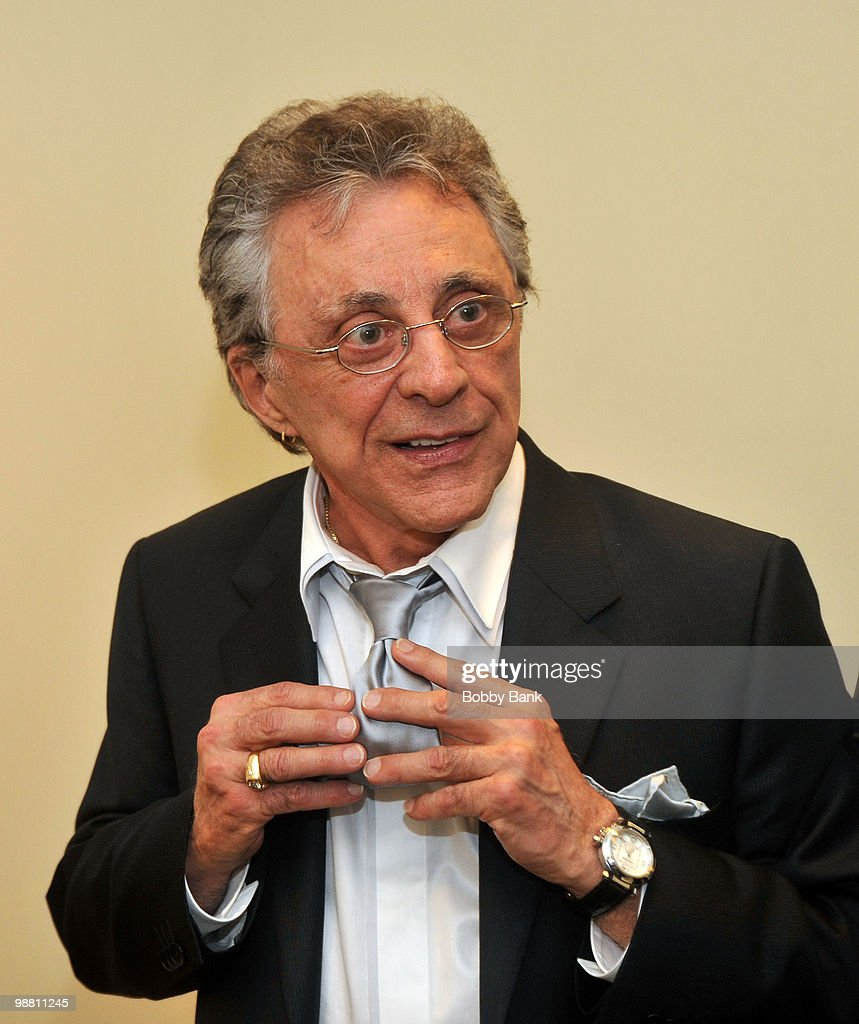 <a gi-track='captionPersonalityLinkClicked' href=/galleries/search?phrase=Frankie+Valli&family=editorial&specificpeople=585927 ng-click='$event.stopPropagation()'>Frankie Valli</a> stands backstage at the 3rd Annual New Jersey Hall of Fame Induction Ceremony at the New Jersey Performing Arts Center on May 2, 2010 in Newark, New Jersey.