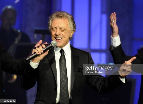Frankie Valli the Four Seasons perform at the 2010 Starkey Hearing Foundation 10th Annual 'So the World May Hear' Gala at Saint Paul RiverCentre on...