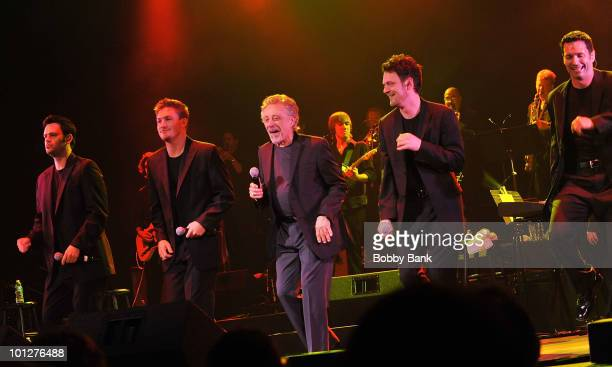 Frankie Valli The Four Seasons perform at the Paramount Theatre on May 29 2010 in Asbury Park New Jersey