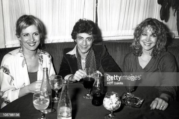 Frankie Valli Wife and Guest during Alice Cooper's After Concert Party April 1 1979 at Carlos Charlie's Restaurant in Los Angeles California United...