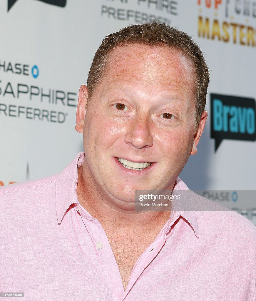 Franklin Becker attends Bravo's 'Top Chef Masters' Season 5 Premiere Celebration at 82 Mercer on July 16, 2013 in New York City.