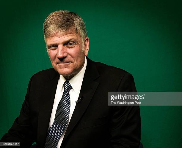 Franklin Graham religious leader and son of Billy Graham during our interview on November 2012 in Washington DC