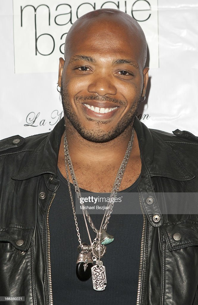 Franklin Vanderbilt attends Celebrity Fashion Designer Maggie Barry Street Launch Party For 'M8' at La Maison de Fashion on May 8, 2013 in Hollywood, California.