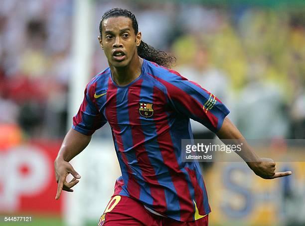Champions League Saison 2005/2006 Finale FC Arsenal FC Barcelona 12 Ronaldinho Brasilien
