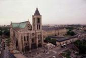 Frankreich/FRA/FRANCE 070598 Die Basilika von ST DENIS WM 1998 Stadtfeature