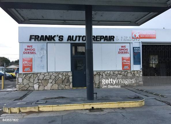 Frank's Auto Repair in Riverside California on January 19 2017