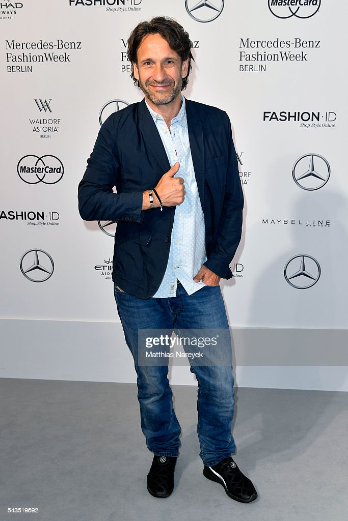 Frank-Willy Wild attends the Sportalm show during the Mercedes-Benz Fashion Week Berlin Spring/Summer 2017 at Erika Hess Eisstadion on June 29, 2016 in Berlin, Germany.