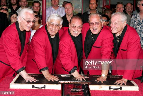 Franny Beacher Johnny Grande Joey Ambrosio Marshall Lytle and Dick Richards of Bill Haley His Comets