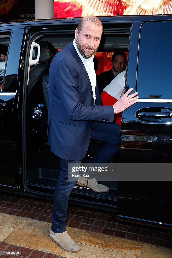 Franois Damiens at the Majestic Hotel during the 68th annual Cannes Film Festival on May 18, 2015 in Cannes, France.