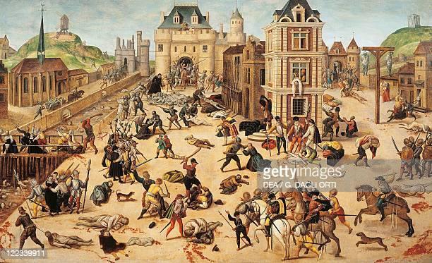 François Dubois St Bartholomew's Night August 24 1572