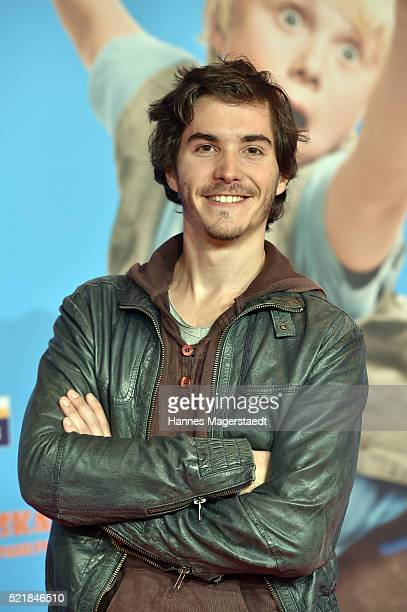 Franois Goeske during the premiere for the film 'Rico Oskar und der Diebstahlstein' at Mathaeser Filmpalast on April 17 2016 in Munich Germany