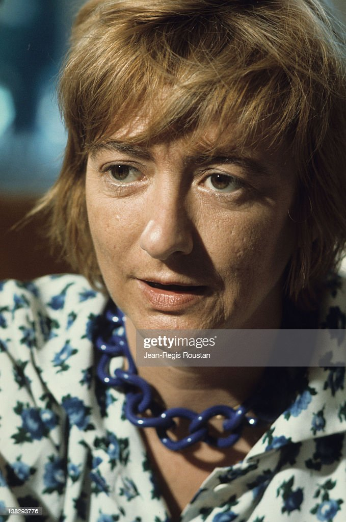 Françoise Sagan French woman of letters at her place France 1972
