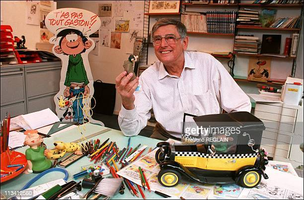 Franquin Creator Of 'Gaston Lagaffe' And 'Marsupilami' On November 14th1996 In Belgium