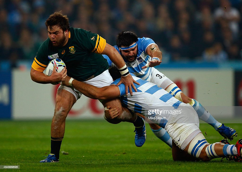 South Africa v Argentina - Bronze Final: Rugby World Cup 2015