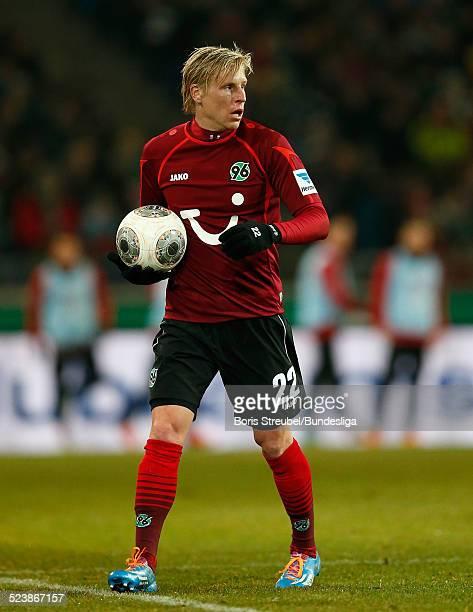 Frantisek Rajtoral aus Hannover 96 in Aktion waehrend des Bundesligaspiels zwischen Hannover 96 und Borussia Moenchengladbach in der HDIArena am in...
