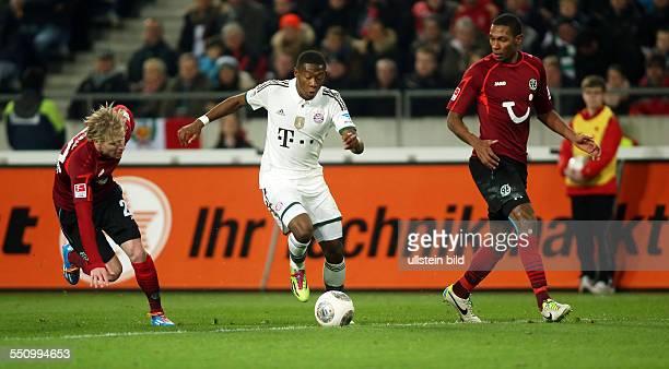Frantisek Rajtoral David Alaba Marcelo Zweikampf Aktion Spielszene Hannover 96 FC Bayern Muenchen München Bundesliga DFL Sport Fußball Fussball...