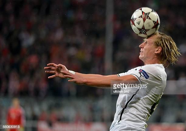 Frantisek Rajtoral in Aktion waehrend dem 3 Spieltag der Gruppe D UEFA Champions League FC Bayern Muenchen gegen FC Viktoria Pilsen in der Allianz...