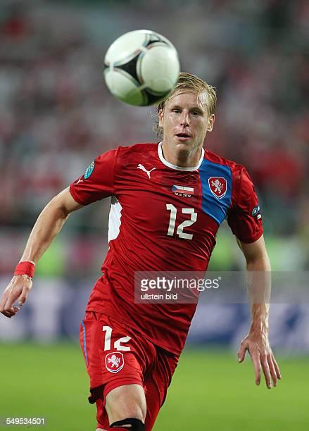 Frantisek Rajtoral Sport Fußball Fussball UEFA EM Europameisterschaft Euro 2012 Saison 2011 Tschechien Tschechische Republik vs Polen...