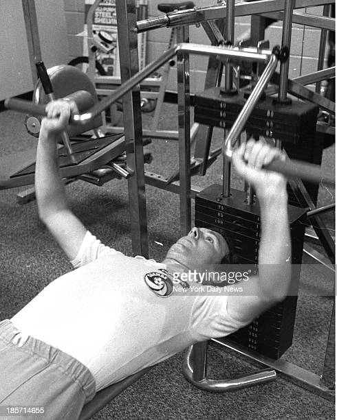 Franz Beckenbauer at Meadowlands working out in Gym He will be leaving the Cosmos and returning to Germany