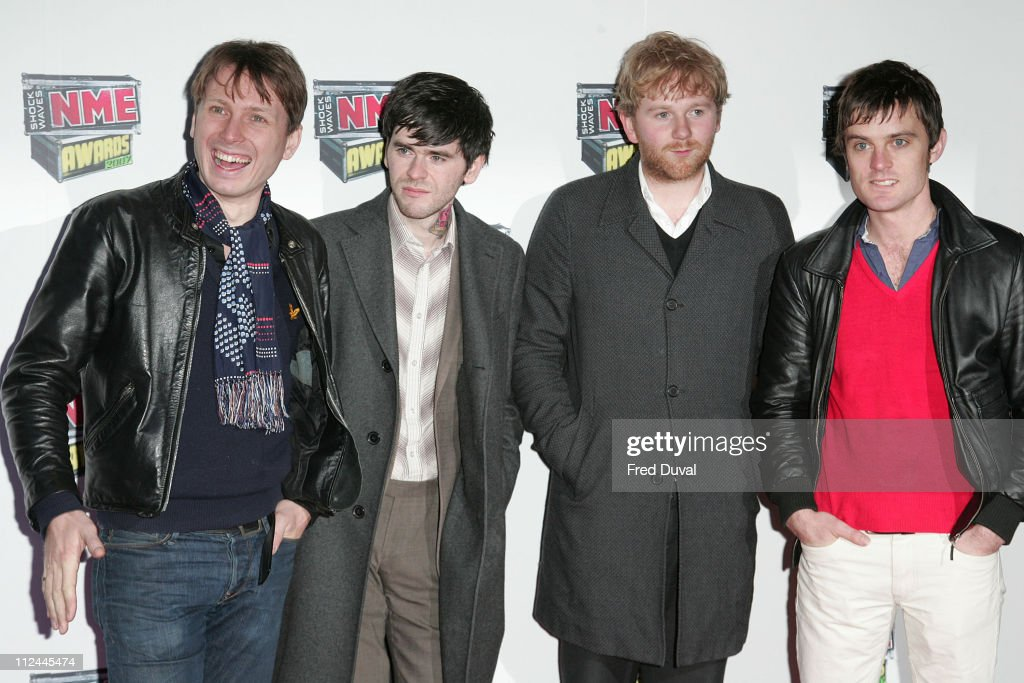 Franz Ferdinand during Shockwaves NME Awards 2007 - Red Carpet Arrivals at Hammersmith Palais in London, Great Britain.