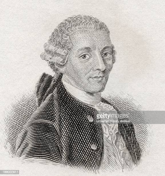 Franz Joseph Haydn 1732 To 1809 Austrian Composer From Crabb's Historical Dictionary Published 1825