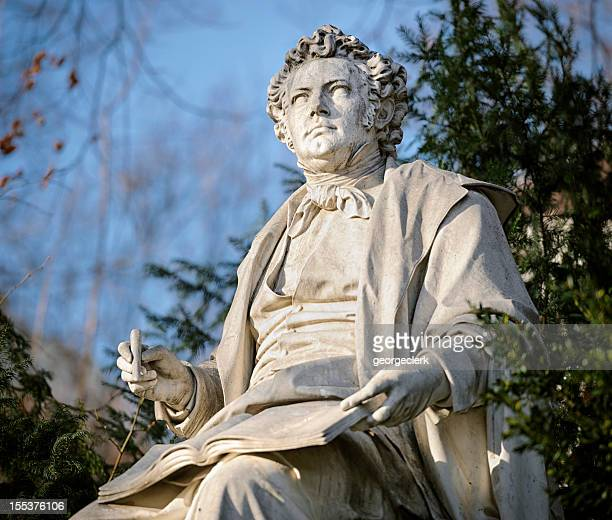 Franz Schubert Statue in Vienna Stadtpark