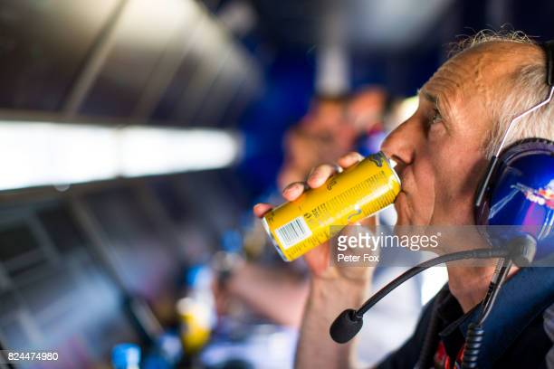 Franz Tost of Scuderia Toro Rosso and Austria during the Formula One Grand Prix of Hungary at Hungaroring on July 30 2017 in Budapest Hungary