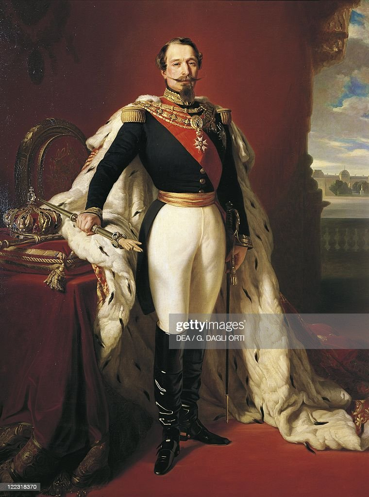 Franz Xaver Winterhalter (1805-1873), Portrait of <a gi-track='captionPersonalityLinkClicked' href=/galleries/search?phrase=Napoleon+III&family=editorial&specificpeople=79405 ng-click='$event.stopPropagation()'>Napoleon III</a> (Louis Napoleon Bonaparte, Paris, 1808 - Chislehurst, 1873), French Emperor (1852-1870).