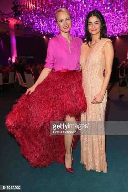 Franziska Knuppe and Shermine Shahrivar during the first INHORGENTA AWARD at Postpalast on February 19 2017 in Munich Germany