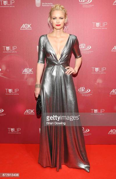 Franziska Knuppe arrives at the TULIP Gala 2017 at MetropolisHalle on November 11 2017 in Potsdam Germany