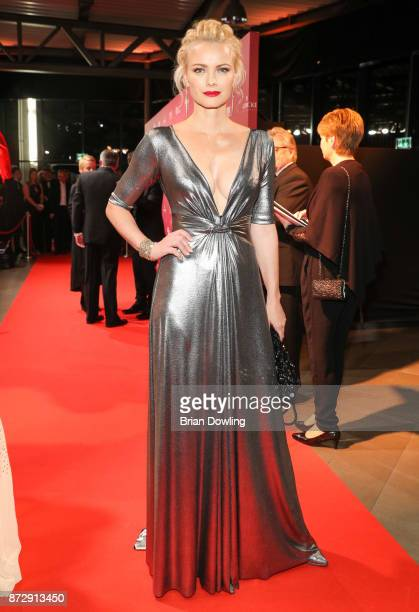 Franziska Knuppe arrives at the TULIP Gala 2017 at MetropolisHalle on November 11 2017 in Potsdam Germany