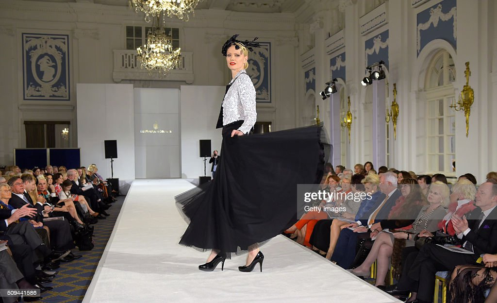 <a gi-track='captionPersonalityLinkClicked' href=/galleries/search?phrase=Franziska+Knuppe&family=editorial&specificpeople=209268 ng-click='$event.stopPropagation()'>Franziska Knuppe</a> attends Liz Malraux Fashion Show at Hotel Atlantic on February 10, 2016 in Hamburg, Germany.