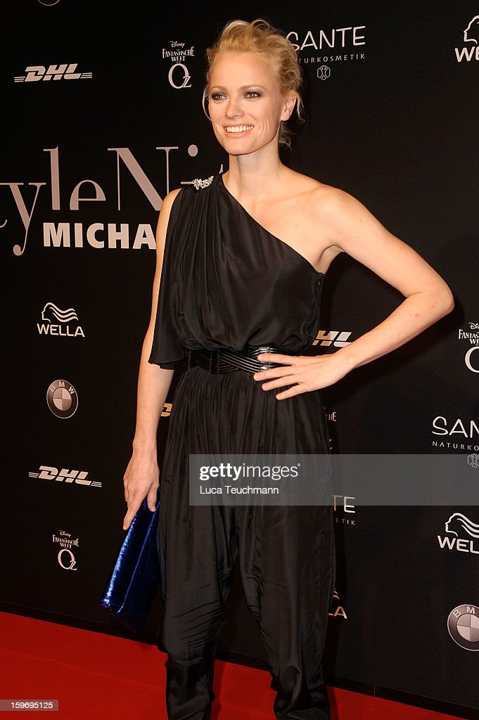 Franziska Knuppe attends Michalsky Style Nite Arrivals - Mercedes-Benz Fashion Week Autumn/Winter 2013/14 at Tempodrom on January 18, 2013 in Berlin, Germany.